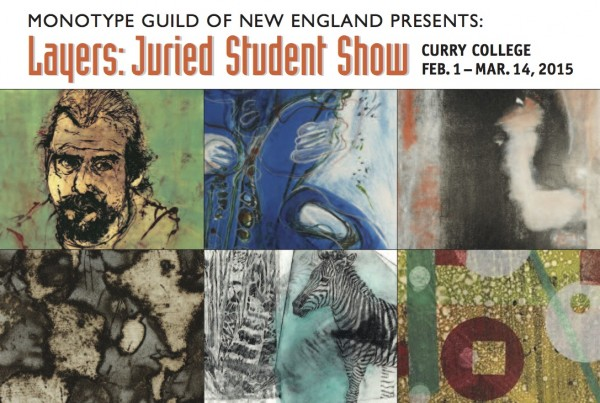 Curry College Show Postcard