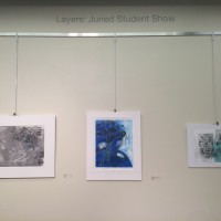Layers: A National Juried Student Exhibition.