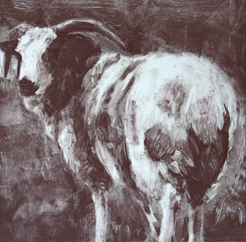 Single Sheep #18 by Carolyn Letvin