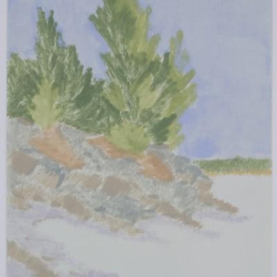 Macworth low tide by Phil Stevens