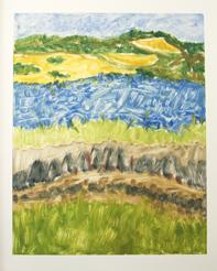 Dunes & Marsh by Lenore Tenenblatt