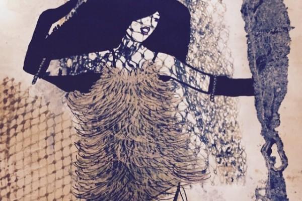 16 x 24 monoprint, 2015