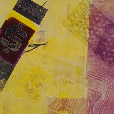 15 x 11 monoprint, 2015