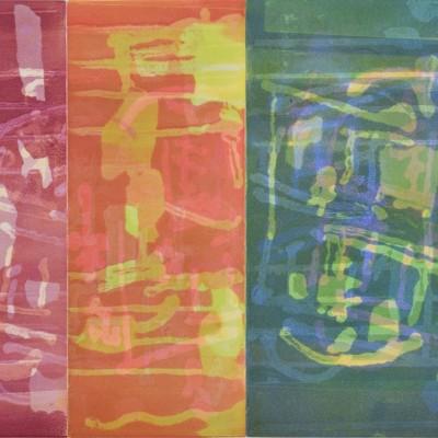 20 x 16 monotype, 2015