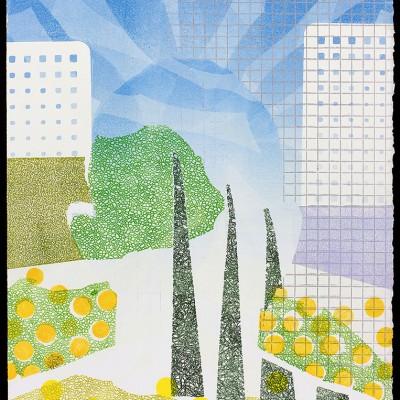 "22"" x 30"" monoprint, 2015"