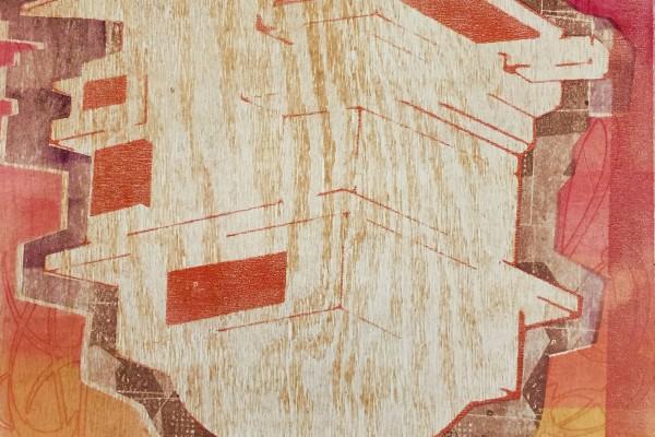 """Holly Greenberg, """"Laniakea-Immeasurable Heaven,"""" 2016."""