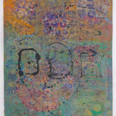 15 x 19.5 clay monoprint, 2015
