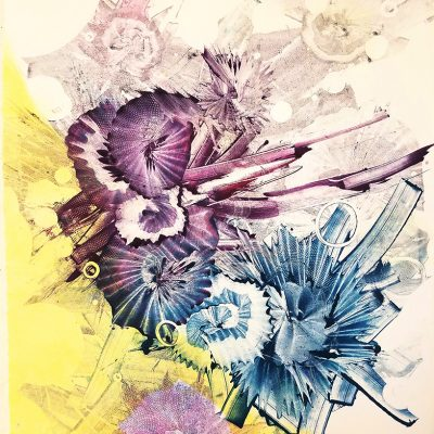 22x30 Akua ink on paper, 2016