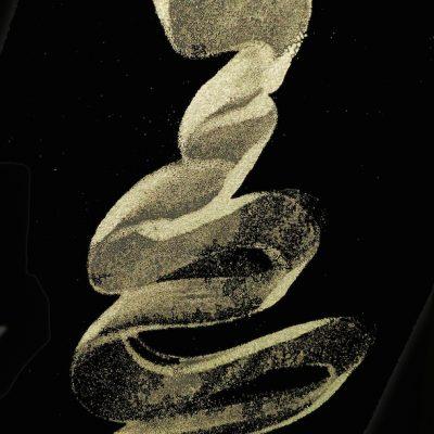 21 x 29 encaustic monotype, 2014