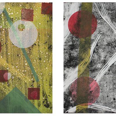 20 x 10 monotype, 2014