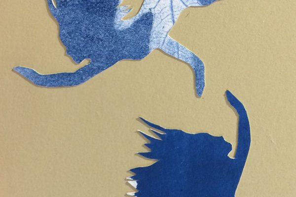 "Valerie Carrigan, ""Rise Up,"" Monotype"