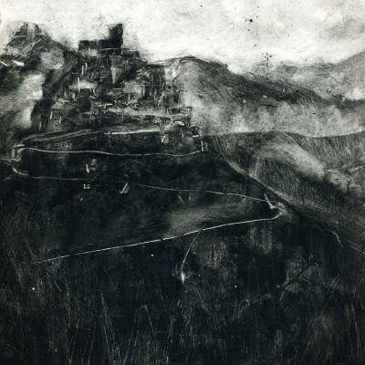 6 x 6 monotype, 2011