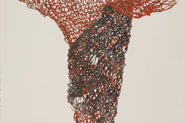 Carol MacDonald, Pedestal IV, monoprint