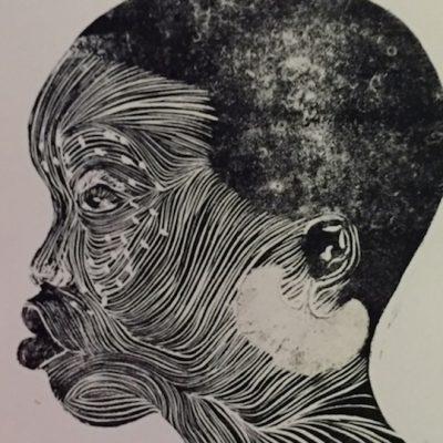 14 x 11 Linocut/Monotype, 2018