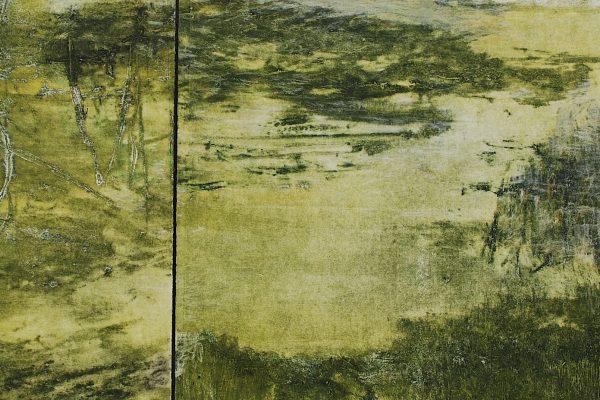 """Mary Arthur Pollak, """"Reflection Diptych"""""""