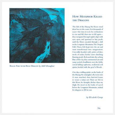 11 x 11 Broadside: Letterpress & Digital Printing (featuring Monoprint), 2020