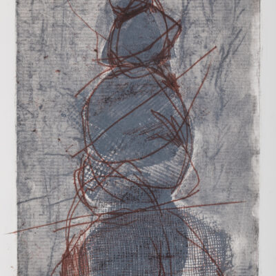 18.5 x 11.5 Collograph, Monotype,Drawing, 2020